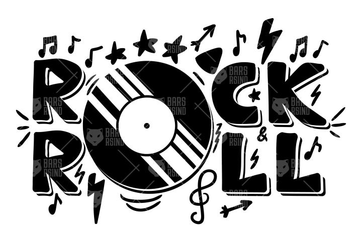 Rock n Roll Overlay