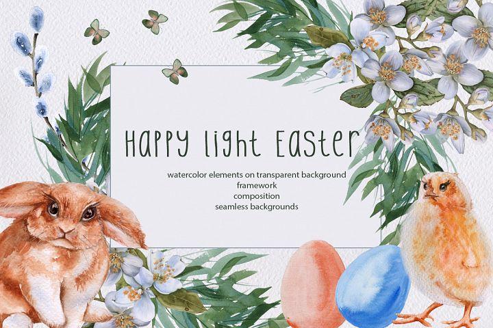 Happy light Easter