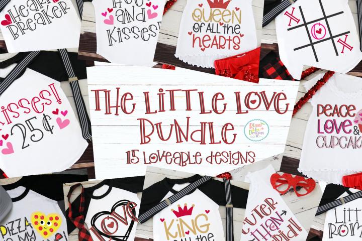 The Little Love Bundle SVG DXF EPS PNG