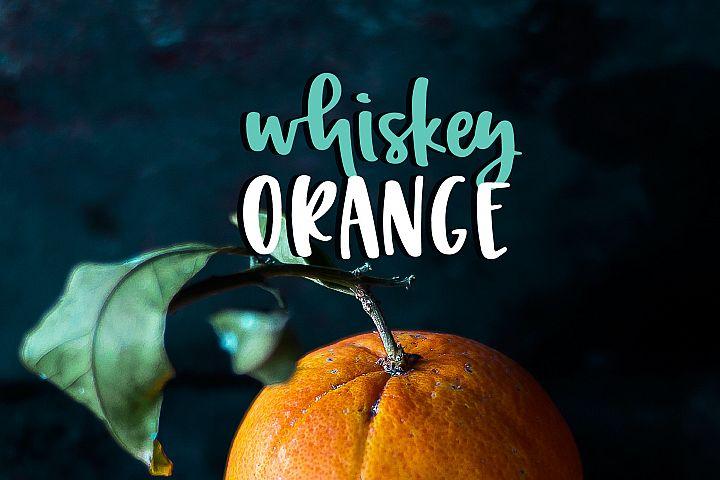 Whiskey Orange