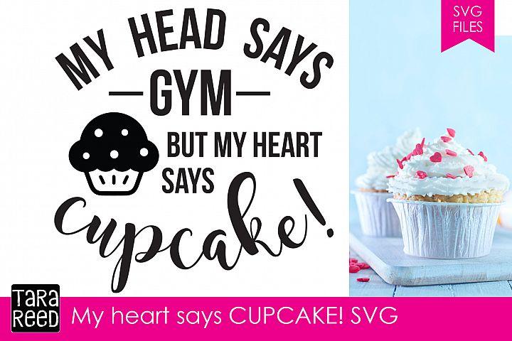 Heart says Cupcake example 2