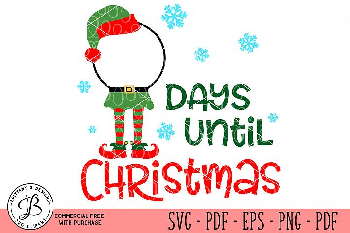 Christmas Countdown, Christmas SVG