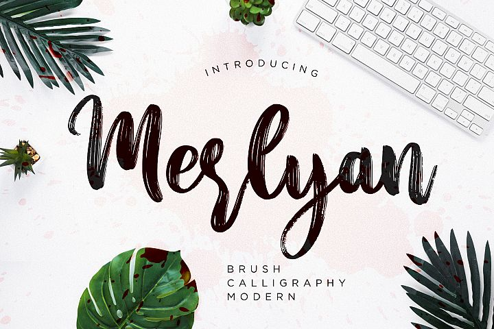 Merlyan Brush Calligraphy