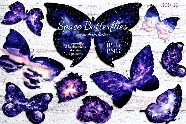 Space Butterflies