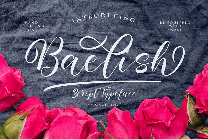Baelish Script Font