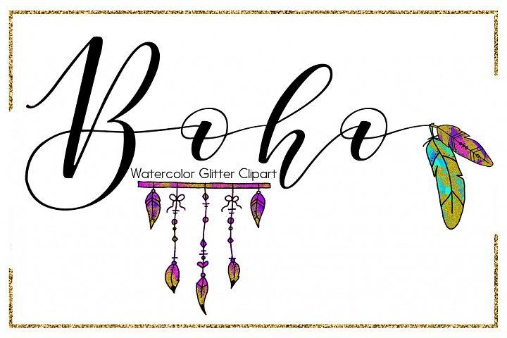 Boho Brush Strokes-digital clipart-indian clipart-Circle-arrow clipart-Planner clipart-Glitter clipart-feather clipart-Blue Clipart-Pink Clipart