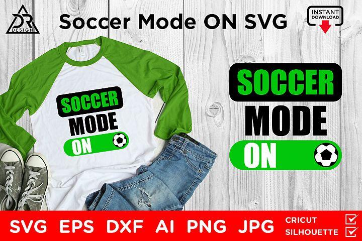 Soccer Mode On SVG File