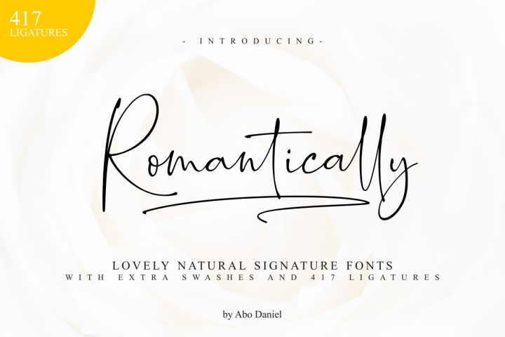 Romantically - Lovely Signature -