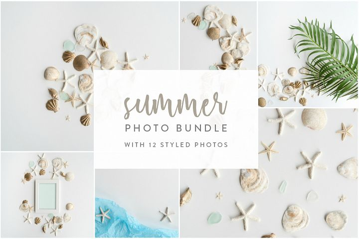 Summer Photo Bundle - Seashells