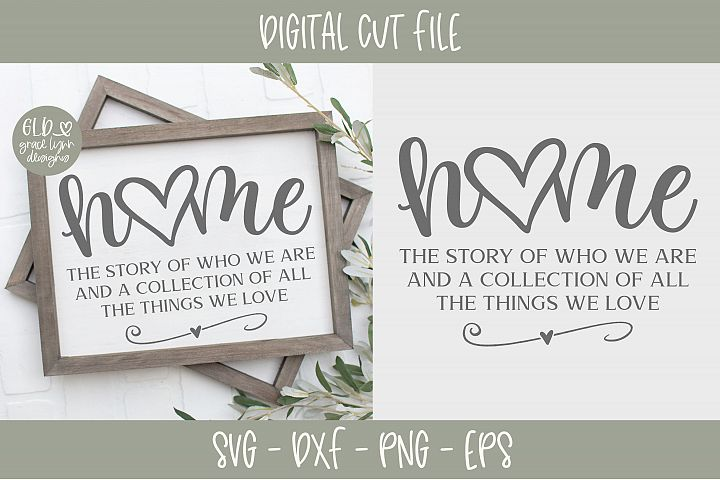 Home The Story Of Who We Are - SVG