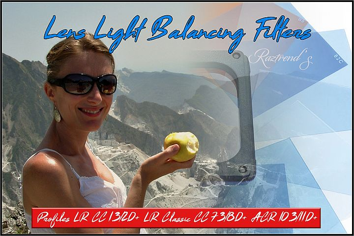 Lens Light Balancing Filters Profiles LR ACR