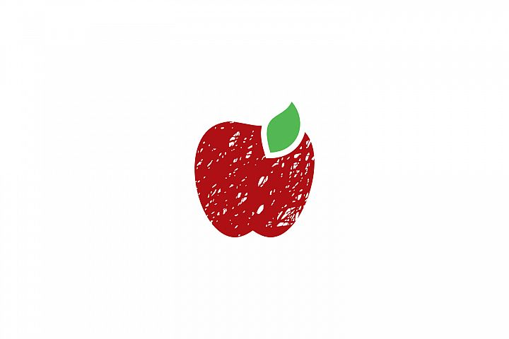 apple fruit logo