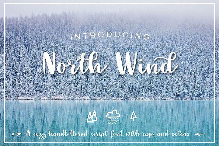 North Wind Script Font