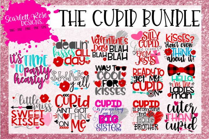 The Cupid Bundle - Valentines Day SVG Bundle