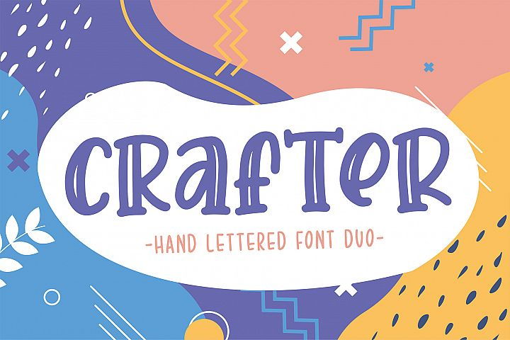 Crafter Font Duo - Best Seller