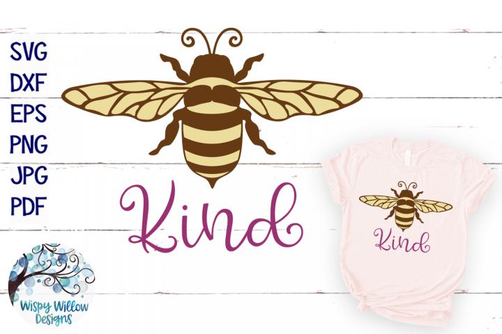 Bee Kind SVG   Bee SVG Cut File
