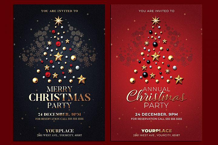 Christmas Flyer Invitation