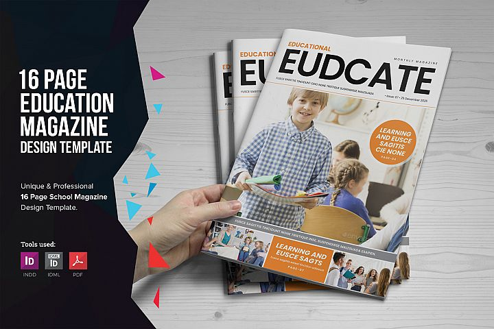 Education Magazine Brochure v1