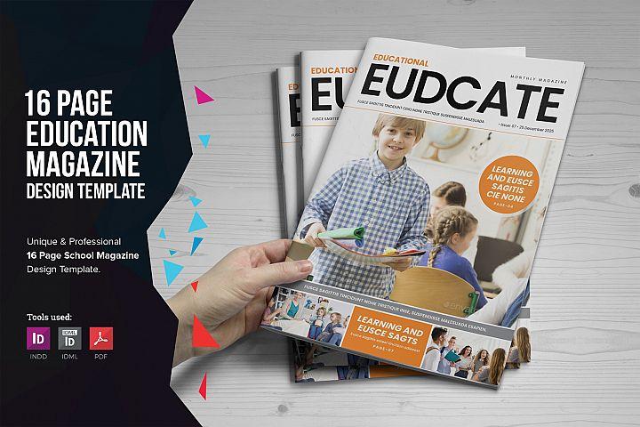 Education Magazine Brochure v1