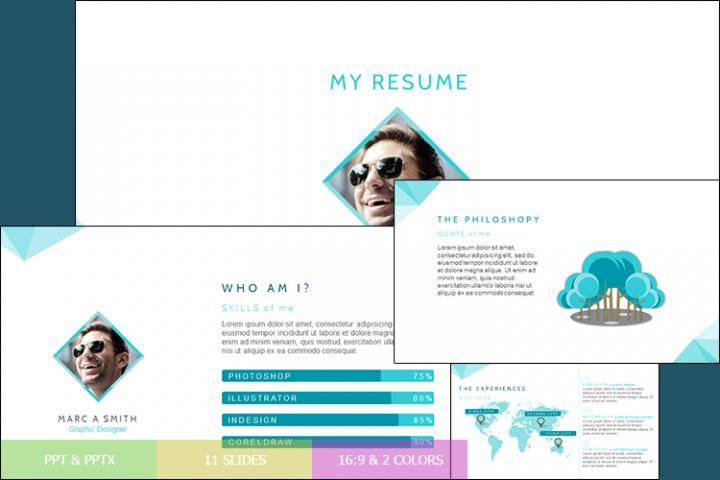 Resume Presentation Templates