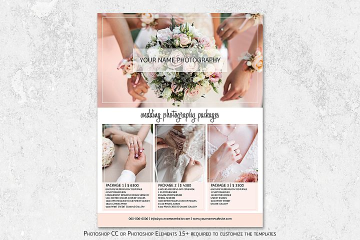 Wedding Photography Pricing Template