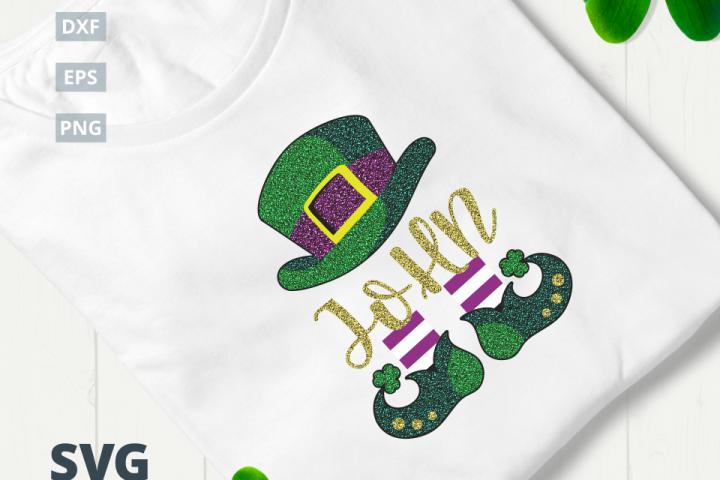 St. Patricks Day Leprechaun SVG Cut File|SVG |DXF |EPS |PNG