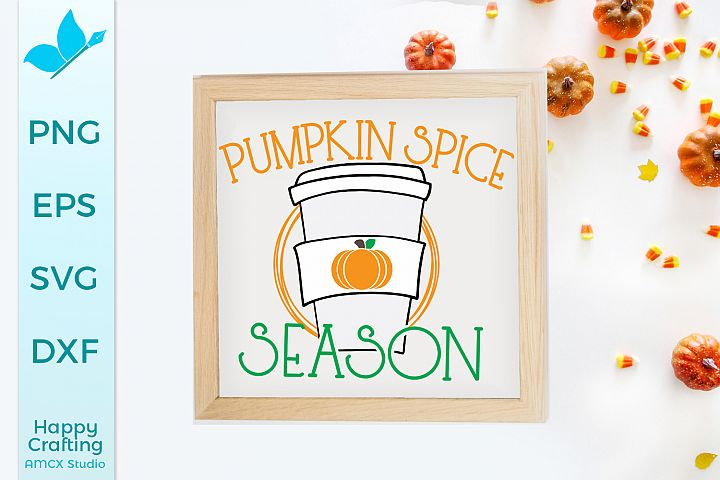 Pumpkin spice Season - Fall Decor Craft File