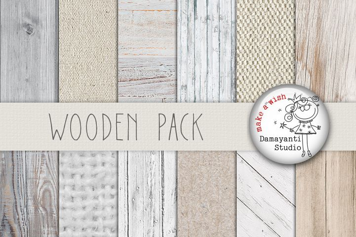 Wood digital paper, wood background, white wood texture, rustic wood, wood scrapbook paper and burlap papers, planner sticker, white wood