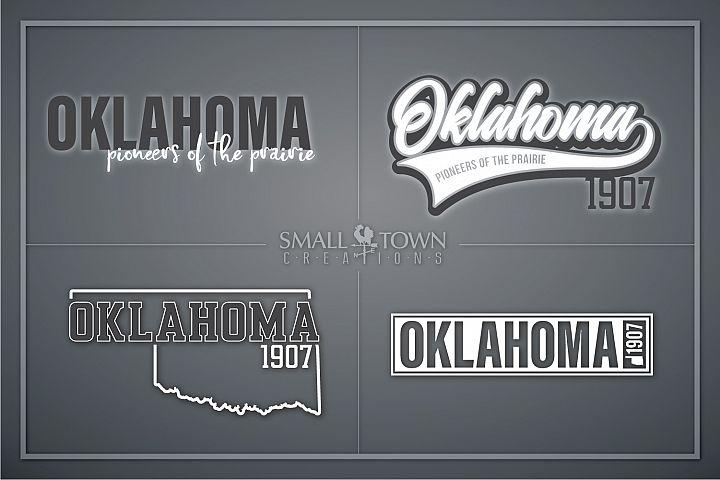 Oklahoma, Pioneers of the Prairie, PRINT, CUT & DESIGN