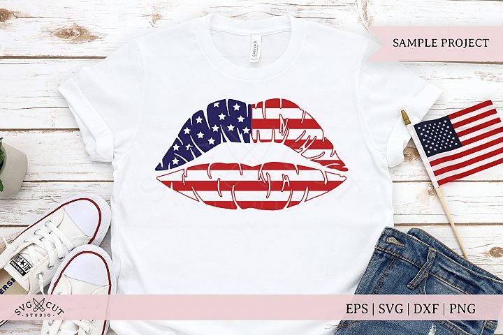American Girl Lips SVG Files