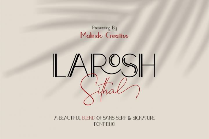 LAROSH Sithal | Font Duo