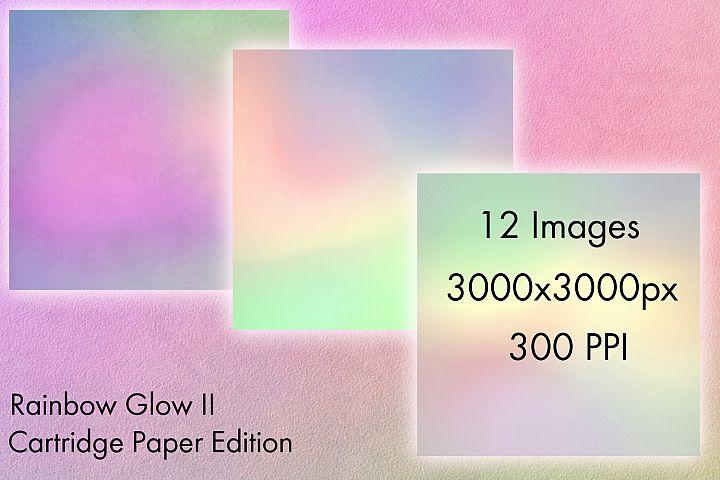 Rainbow Glow II - Cartridge Paper Edition - 12 Backgrounds example 1