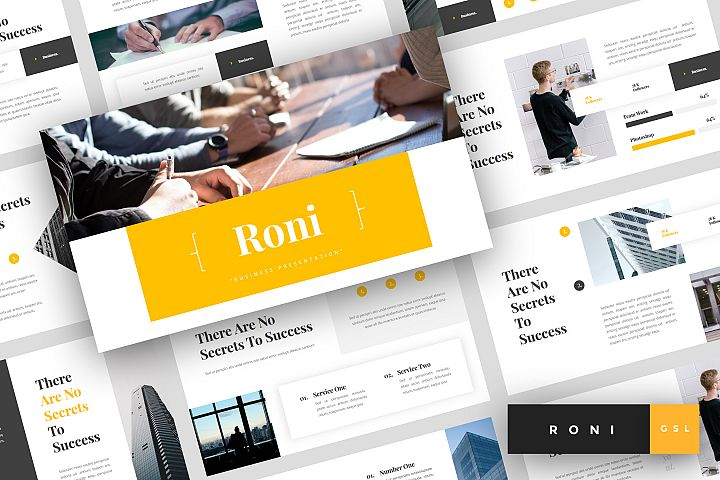 Roni - Business Google Slides Template