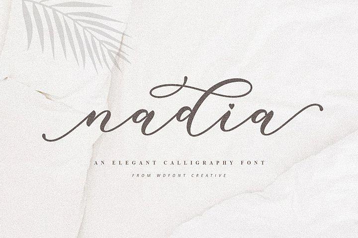 Nadia | An Elegant Calligraphy