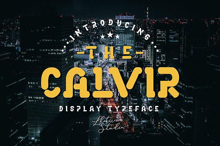 The Calvir | Display Font