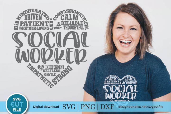 Social worker subway art svg - social work svg for crafters