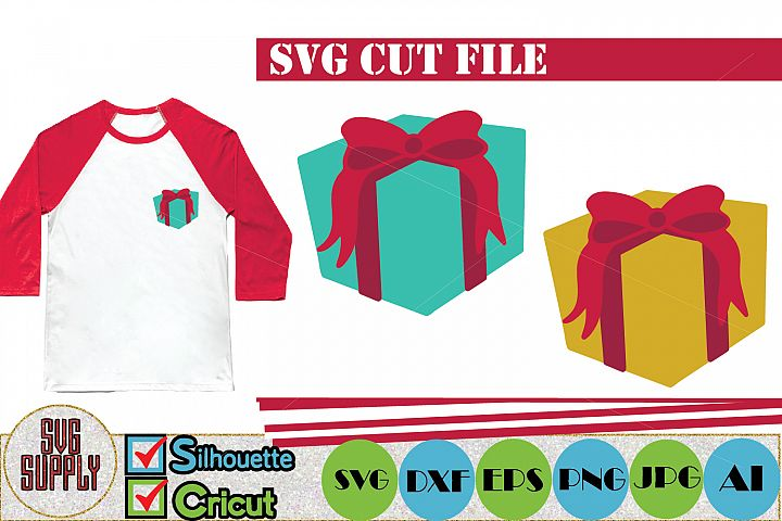 Gift Set SVG Cut File