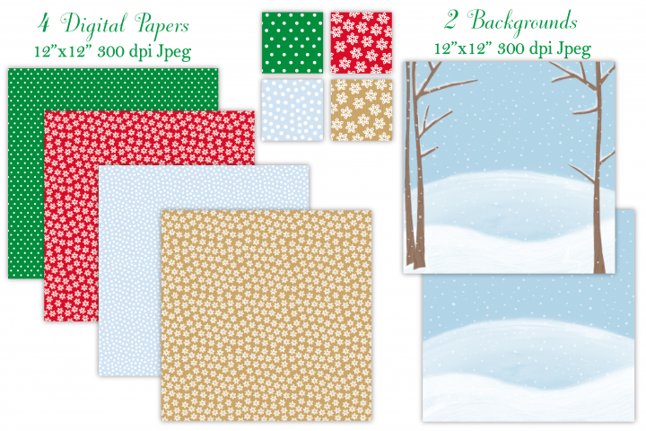Christmas clipart, Christmas graphics & illustrations - Free Design of The Week Design 1