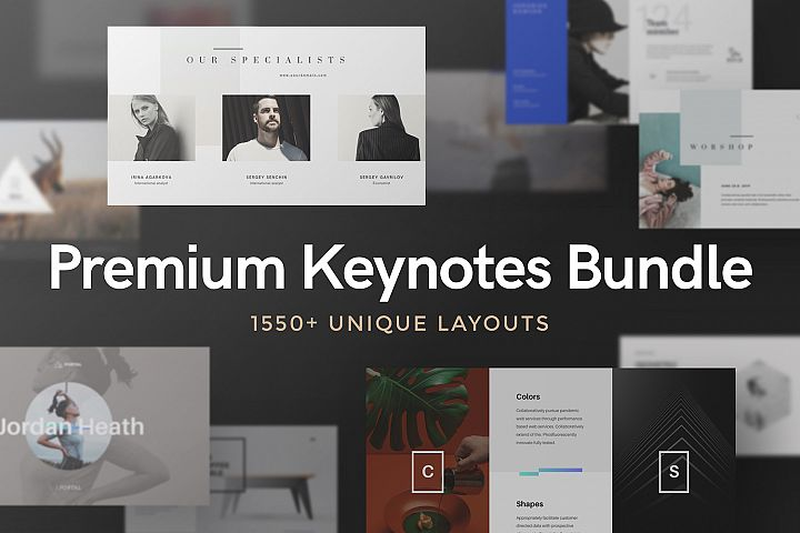 Premium Keynotes Presentation Bundle