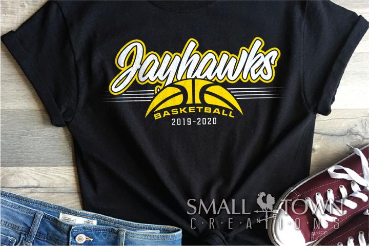 Jayhawk, Basketball, Sport, Design, PRINT, CUT, DESIGN