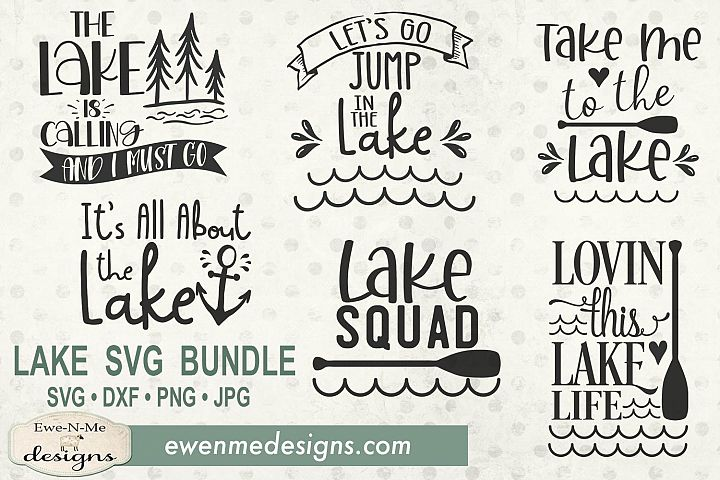 Lake SVG Bundle - Summer