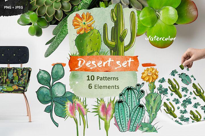 Desert set