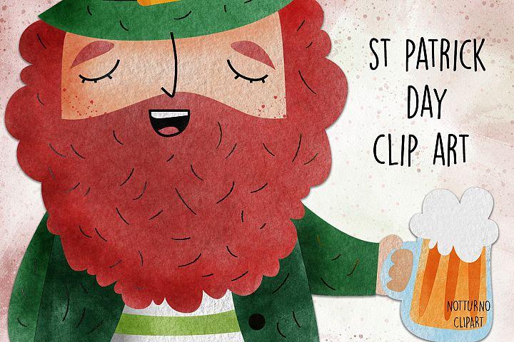 St Patrick day clip art