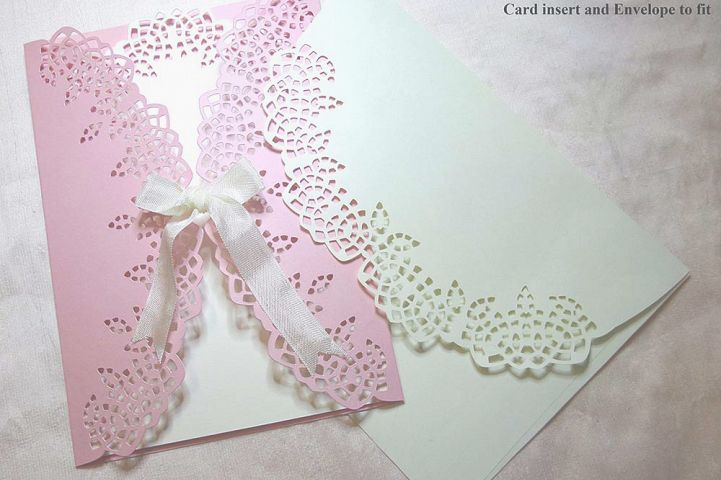 Filigree look gate fold card