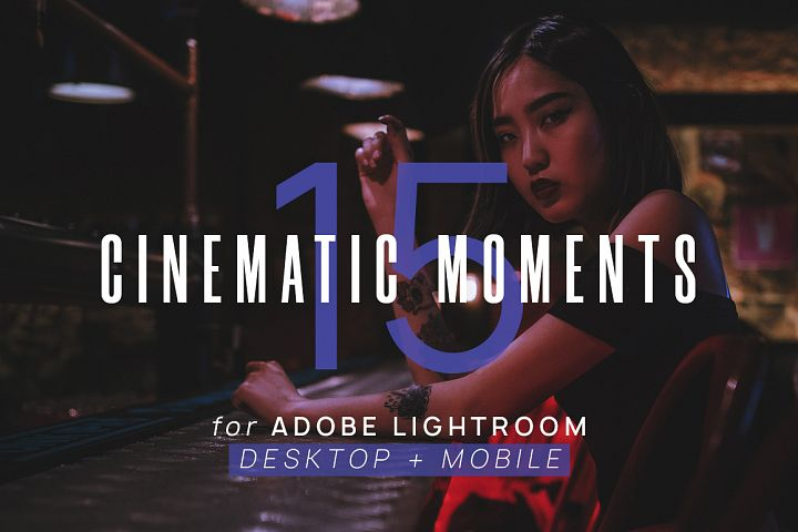 12 Cinematic Moments Lightroom Presets