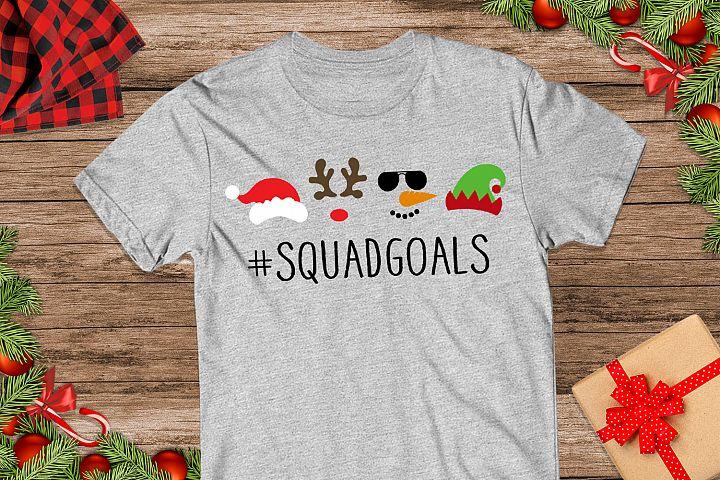 Christmas Squad Goals Svg, Christmas Svg