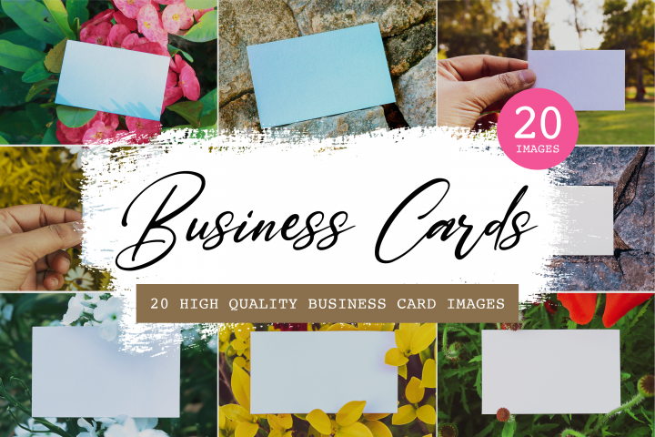20 High-quality business card images