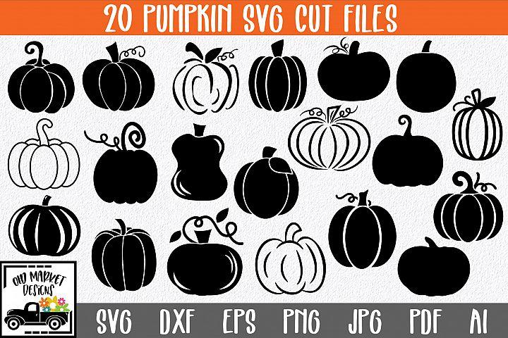 Pumpkins SVG Cut File Bundle