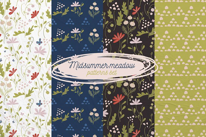 Midsummer Meadow patterns set