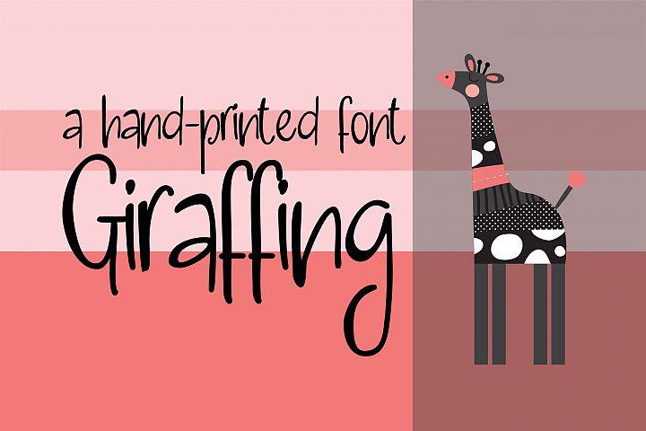 ZP Giraffing